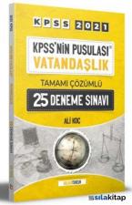 2021 Kpss'nin Pusulası Vatandaşlık Tamamı Çözümlü 25 Deneme Sınavı