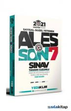 2021 Master Serisi ALES Son 7 Sınav Tamamı Çözümlü Çıkmış Sorular Yediiklim Yayınları