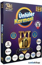 2021 TYT 10 Farklı Yayın 10 Deneme (Poster Hediyeli) Ünlüler Karması