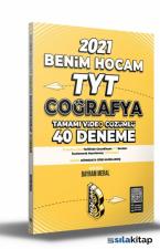 2021 TYT Coğrafya Tamamı Video Çözümlü 40 Deneme Sınavı Benim Hocam Yayınları