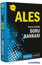 2022 ALES Tüm Adaylar Soru Bankası Çözümlü Pegem Akademi Yayınları