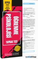 2022 KPSS Eğitim Bilimleri Öğrenme Psikolojisi Yaprak Test Kitaba Gözat 2022 KPSS Eğitim Bilimleri Öğrenme Psikolojisi Yaprak Test