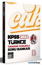 2022 KPSS Türkçe Tamamı Çözümlü Soru Bankası Benim Hocam Yayınları