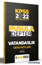 2022 KPSS Vatandaşlık Pusula Defter Ders Notları Doğru Tercih Yayınları