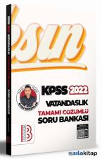 2022 KPSS Vatandaşlık Tamamı Çözümlü Soru Bankası