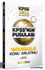 2022 KPSS'ni̇n Pusulası Anayasa Konu Anlatımı Doğru Tercih Yayınları