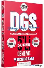 2022 Prestij DGS Tamamı Çözümlü Süper 5 Deneme