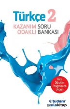 2.Sınıf Türkçe Kazanım Odaklı Soru Bankası-Yeni Öğretim Programına Uygun