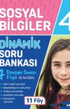 4. Sınıf Dinamik Sosyal Soru Bankası