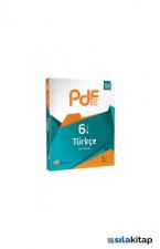 6. Sınıf Türkçe PDF Planlı Ders Föyü Martı Okul Yayınları