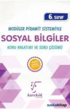 6.Sınıf Modüler Piramit Sistemiyle Sosyal Bilgiler MPS Konu Anlatımı ve Soru Çözümü