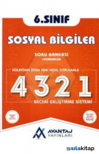 6.Sınıf Sosyal Bilgiler Soru Bankası + Denemeler