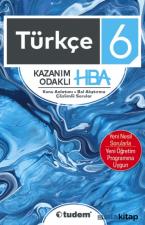 6.Sınıf Türkçe Kazanım Odaklı Soru Bankası Hba