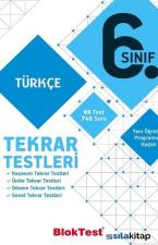 6.Sınıf Türkçe Tekrar Testleri