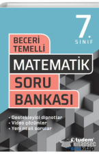 7. SINIF BECERİ TEMELLİ MATEMATİK SORU BANKASI