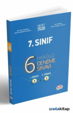 7. Sınıf Çözümlü 6 Deneme Fasikül