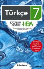 7. Sınıf Türkçe Kazanım Odaklı Soru Bankası HBA
