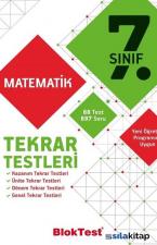 7.Sınıf Matematik Tekrar Testleri