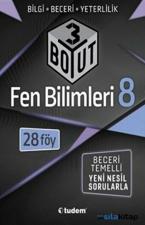 8. Sınıf Lgs Fen Bilimleri 3 Boyut 28 Föy Tudem Yayınları