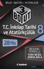 8. Sınıf Lgs T.c. İnkılap Tarihi ve Atatürkçülük 3 Boyut 28 Föy Tudem Yayınları