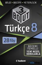 8. Sınıf Lgs Türkçe 3 Boyut 28 Föy Tudem Yayınları