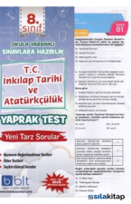 8. Sınıf T.C inkilap Tarihi ve Atatürkçülük Yaprak Test
