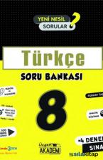 8. Sınıf - TÜRKÇE - Soru Bankası