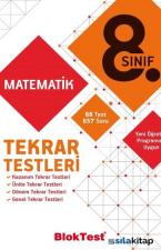 8.Sınıf Matematik Tekrar Testleri