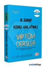 8.Sınıf Vip Tüm Dersler Konu Anlatımlı Mavi Kitap