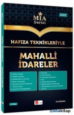 Akfon Yayınları Hafıza Teknikleriyle Mahalli İdareler Mi̇a Serisi Ali Argama