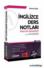 Akın Dil & Yargı Yayınları YDS Grammar İngilizce Ders Notları