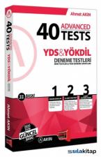 Akın Dil & Yargı Yayınları YDS & Yökdil 40 Advanced Tests