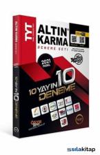 Altın Karma TYT 2021 10 Yayın 10 Deneme