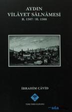 Aydın Vilayet Salnamesi R. 1307 / H. 1308- Ciltli