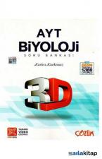 AYT Biyoloji 3D Soru Bankası