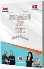 Karaağaç YKS AYT Fizik Soru Bankası Karaağaç Yayınları