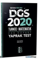 Benim Hocam 2020 DGS Çek Kopart Yaprak Test