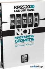 Benim Hocam 2020 KPSS Lise Önlisans MOTTO Matematik Geometri Ders Notları