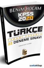 Benim Hocam 2020 KPSS Türkçe Tamamı Çözümlü 22 Deneme