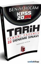 Benim Hocam Yayınları 2020 KPSS Tarih Tamamı Çözümlü 22 Deneme