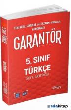 5.Sınıf Türkçe Data Garantör Soru Bankası