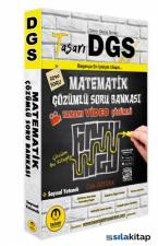 DGS Matematik Sayısal Yetenek Çözümlü Soru Bankası