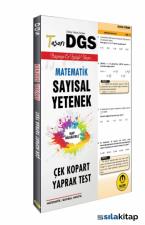DGS Matematik Sayısal Yetenek Yaprak Test 2020
