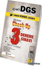DGS Öncesi Check Up Video Çözümlü 3 Deneme Tasarı Eğitim Yayınları