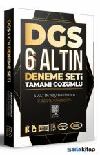 DGS Tamamı Çözümlü 6 Altın Deneme Benim Hocam Yayınları