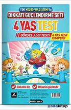 Dikkati Güçlendirme Seti 4 Yaş Test