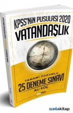 Doğru Tercih Yayınları 2020 KPSS'Nin Pusulası Vatandaşlık 25 Deneme