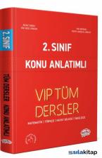 Editör 2.Sınıf VIP Tüm Dersler Konu Anlatımlı Kırmızı Kitap
