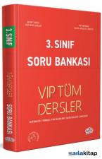 Editör 3.Sınıf VIP Tüm Dersler Soru Bankası Kırmızı Kitap