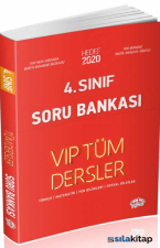 Editör 4.Sınıf VIP Tüm Dersler Soru Bankası Kırmızı Kitap
